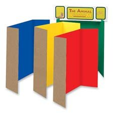 Single Walled Presentation Board,48 quot;x36 quot;,24/ST,Assorted