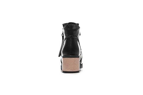 Compensées EU SXC02409 Noir Femme 5 38 Sandales AdeeSu AqRSwFn