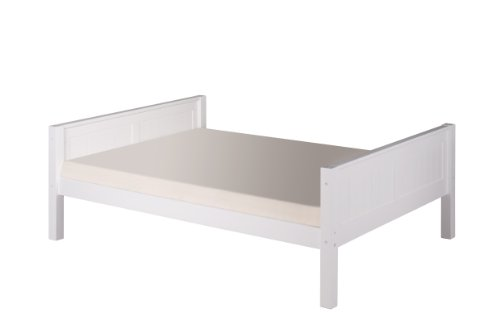 Camaflexi Panel Style Solid Wood Platform Bed