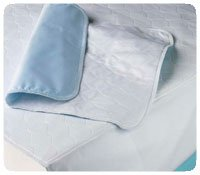 Hartmann 34018 Dignity Washable Quilted Seating Protector, 35'' Width, 35'' Length, Cotton with Tucks