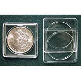 (25 Marcus Plastic 2x2 coin holders: Silver Dollars)
