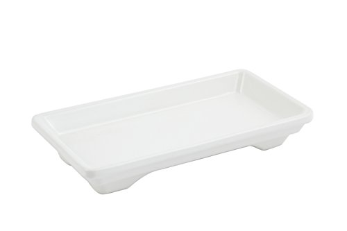 (Bon Chef 9082 Aluminum Small Footed Tray, 7-1/2