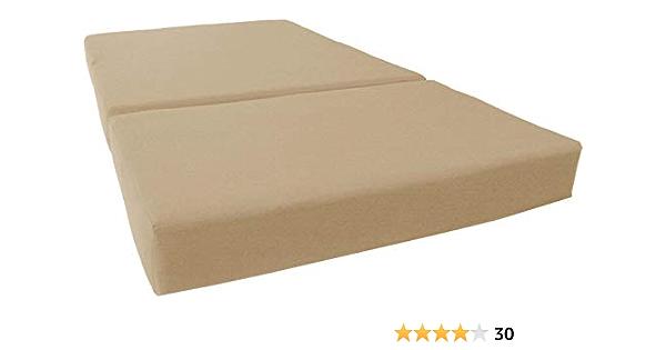 Amazon Com D D Futon Furniture Tan Twin Size Shikibuton Trifold Foam Beds 6 X 39 X 75 1 8 Lbs High Density Foam Folding Mattresses Furniture Decor