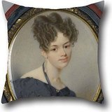 [Throw Pillow Covers 16 X 16 Inches / 40 By 40 Cm(2 Sides) Nice Choice For Valentine,car Seat,father,relatives,girls,car Oil Painting Thomas Seir Cummings - Portrait Of Elizabeth Stirling] (0-3 Months Baby Halloween Costumes Uk)