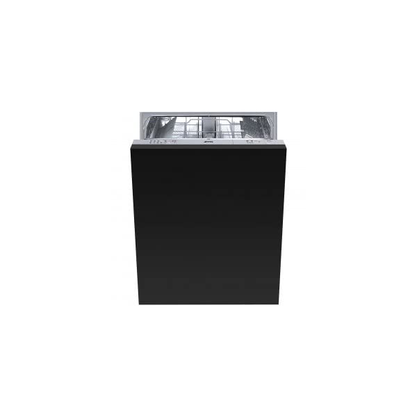 """Smeg 24"""" Fully integrated Dishwasher With 13 Place Settings 5 Wash Cycles, Half-Flexible Load, Panel Ready, STU8249 1"""