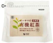 オーサワ  オーサワの宮崎産有機紅茶(ティーバッグ) 60g(3g×20包)  4パック