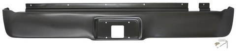 IPCW CWRS-04F Ford F-150 Steel Roll Pan with License Plate Hole and -