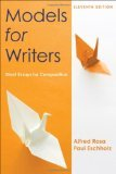 Models for Writers 11e and Easy Writer 4e with 2009 MLA and 2010 APA Updates, Rosa, Alfred and Eschholz, Paul, 1457638649