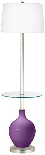 (Passionate Purple OVO Tray Table Floor Lamp - Color + Plus)