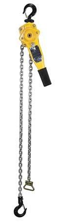 Chain Hoist Cap - Lever Chain Hoist, Cap 1500Lb, Lift 15Ft
