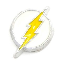 (Cherityne NHL Tampa Bay Lightning Ice Hockey Team Logo Floating Charm for Locket Pendants)