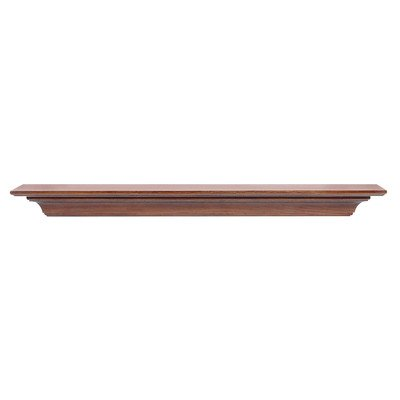 Homestead Fireplace Mantel Shelf Finish: Antique, Shelf Length: ()