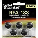 PetSafe Compatible RFA-188 Replacement Batteries (Pack of ()