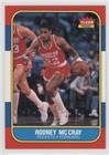 Rodney McCray (Basketball Card) 1986-87 Fleer - [Base] #71