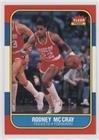 1986 Fleer Basketball Cards - Rodney McCray (Basketball Card) 1986-87 Fleer - [Base] #71