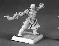 Grim Reaper Miniature 60016 Pathfinder series Sajan, iconic male monk of miniature