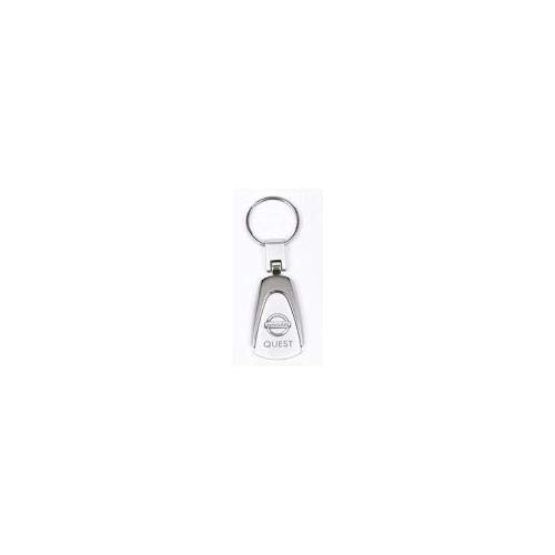 Teardrop Nissan Quest Keychain /& Keyring