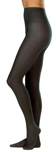 Activa Ultra Sheer 9-12 mmHg Panty Hose with Control Top, Black, Size C