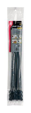 GB Gardner Bender 45-12BEADBK 12'' Black Beaded Cable Tie by Gardner Bender