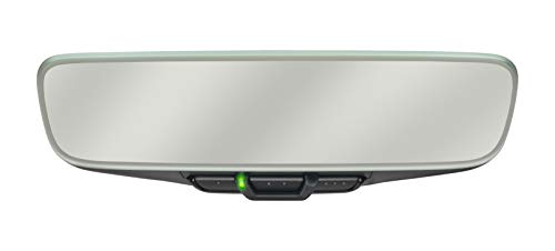Chamberlain Group TM210 ARQ Mirror with Garage Door Opener, One Size, Black