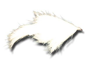 (Bunny Leech - White Fly Fishing Fly - Size 4 - 3 Pack )