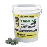 Motomco 008-32448 Tomcat All-Weather Bait Chunx Rat And Mouse Killer, 1 oz/18 lb