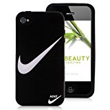 iphone covers Nike Swoosh Iphone 6 plus Case Sport Brand Logo Silicone Black Protective Cover Guard -