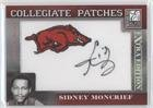 Sidney Moncrief  141 250  Trading Card  2007 Donruss Elite Extra Edition   Collegiate Patches  Cp Sm
