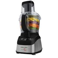 Black & Decker PowerPro 2-in-1 Food Processor, Black by BLACK+DECKER