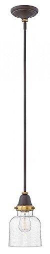 Hinkley 67073OZ Academy Pendant, 1-Light 100 Watts, Oil Rubbed ()
