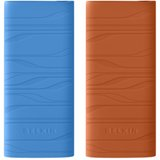 F8Z380TTBLO2 - Belkin Sonic Wave Sleeve for iPod nano 4G Silicone - Blue, Orange