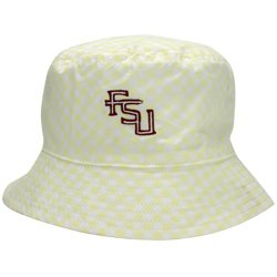 Nike Florida State Seminoles (FSU) Yellow Ladies Plaid Bucket Hat - Buy  Online in Oman.  acc4aa536a5