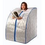 Precision Therapy - Portable Far Infrared Sauna with Ceramic Heater and Negative Ion - Regular (Infrared Sauna Therapy)