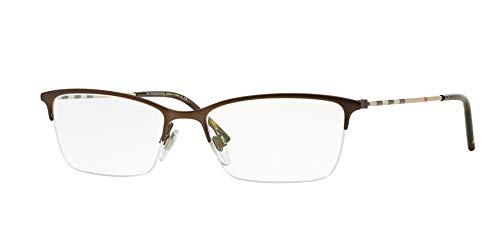Burberry Women's BE1278 Eyeglasses Matte Brown 53mm