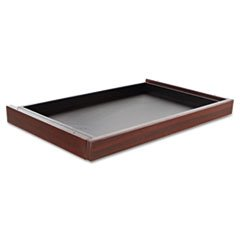 - Alera Valencia Series Center Drawer, 24-1/2W X 15D X 2H, Mahogany