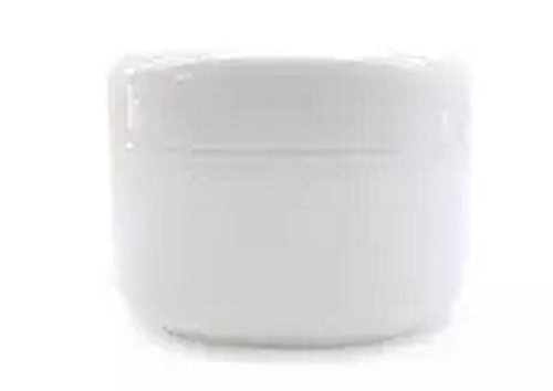6PCS 250ML White Plastic Empty Jars With Liners Make Up Samp
