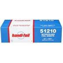 Handi Foil Aluminum 12 x 10 inch Foil Sheet -- 3000 per case. by Handi-Foil