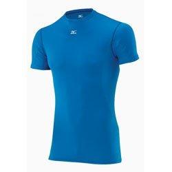 Mizuno Mid Weight Tee Lingerie Running Homme Bleu/Blanc 73CF15424xXL