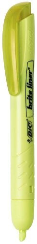 BIC Brite Liner Retractable Highlighter, Chisel Tip, Assorted Colors, 30-Count by BIC (Image #1)