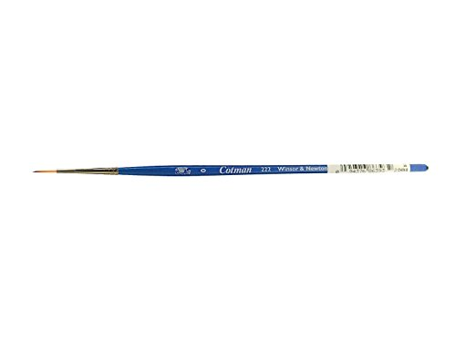 Winsor & Newton Cotman Water Colour Series 222 Short Handle Synthetic Brush - Designers' #0 from Winsor & Newton