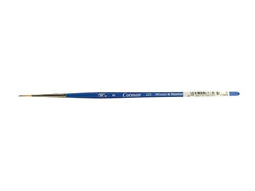 Winsor & Newton Cotman Water Colour Series 222 Short Handle Synthetic Brush - Designers' #0 ()