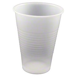 Pactiv YE12 Cups, Rugged & Strudy Translucent Plastic Drink Cups - 12oz. (855/cs)