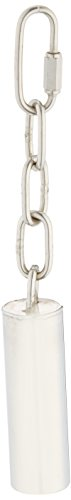 (Caitec Paradise 1-Inch by 3-Inch Stainless Steel Pet Toy Bell, Small)