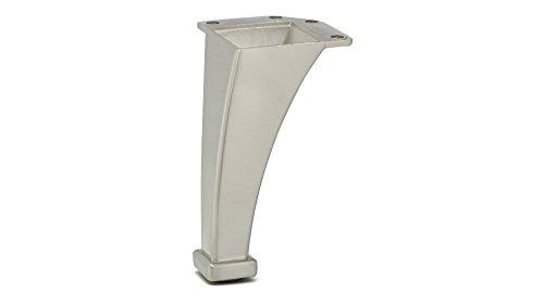 Contemporary Furniture Leg (Richelieu Hardware - BP40720195 - Contemporary Furniture Leg - 4072 - 4.125 in - Nickel  Finish)
