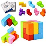 Younsea Magnetic Building Blocks, Magnetic Magic Cube Smooth 3-D Rubiks Cube Speed Cube Puzzle Educational Building Block Toys for Children Kids Gift