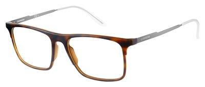 Carrera 6667 Eyeglass Frames CA6667-0R8Q-5317 - Havana Dark Ruthenium Frame, Lens Diameter 53mm,