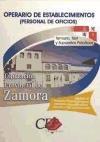 Descargar Libro Temario, Test Y Supuestos Prácticos Oposiciones Operarios De Establecimientos . Diputación De Zamora Sin Datos