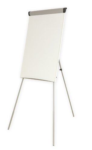 flip chart easel and dry wipe whiteboard amazon co uk office products