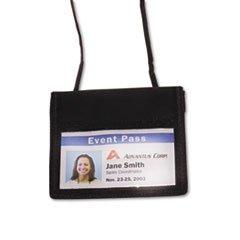 AVT75452 - Advantus ID Badge Holder w/Convention Neck (Badge Id Holder Convention Pouch)