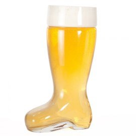 1 / 2l Beer (2 Liter Glass Beer Boot-Machine Pressed)